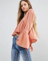 Glamorous Bell Sleeve Top