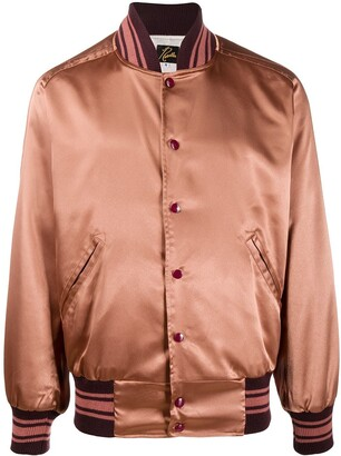 Needles Satin Bomber Jacket