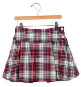 Baby CZ Girls' Pleated Plaid Skirt w/ Tags