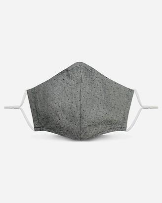 Express Pocket Square Clothing Gray Dot Unity Face Mask