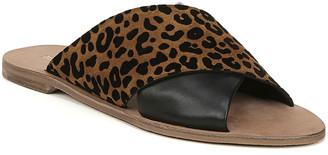 Diane von Furstenberg Baile Leopard-Print Suede Sandals