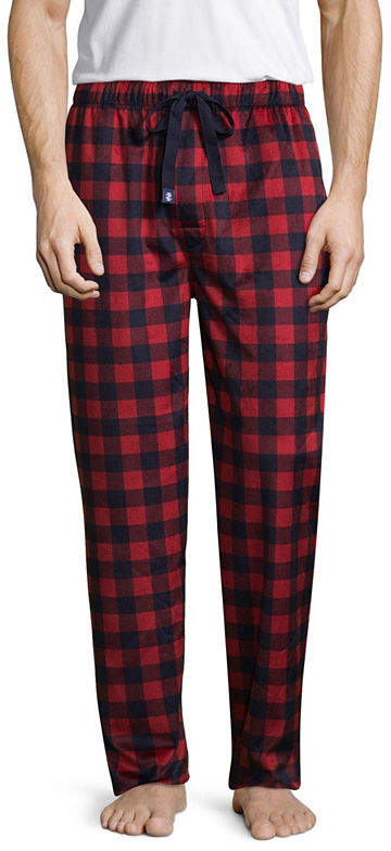 Izod Mens Big Fleece Pajama Pants