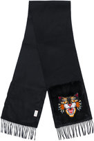 Gucci Angry Cat pocket scarf