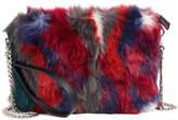 Chelsea28 Faux Fur Crossbody Clutch