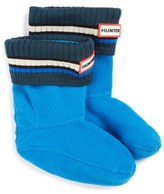 Hunter Buoy Stripe Cuff Welly Socks (Walker, Toddler & Little Kid)