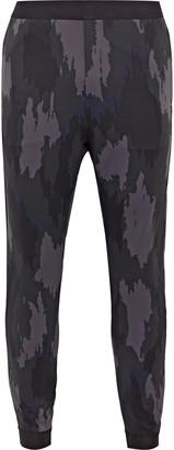 Lululemon Robert Geller Take the Moment Slim-Fit Tapered Printed Full-On Luon Sweatpants - Men - Gray