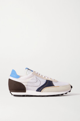 Nike Daybreak Type N.354 Mesh, Faux Suede And Leather Sneakers - White