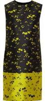Erdem Lowry Floral Jacquard Mini Dress