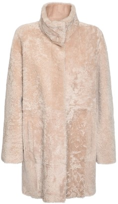 Drome Reversible Shearling Short Coat