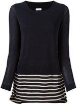 Akris Punto striped detail jumper