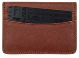 A.P.C. Men's Andre Leather Card Holder - Brown