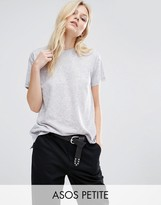 Asos Linen Mix T-Shirt