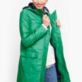 Talbots Classic Hooded Rain Jacket