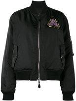 Givenchy Mandala patch reversible bomber jacket
