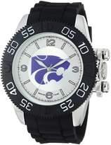 Game Time Men's COL-BEA-KSU Beast Analog Display Japanese Quartz Black Watch
