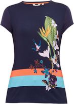 Ted Baker Immyeni Tropical Oasis fitted T-shirt