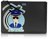 Karl Lagerfeld J/Jet Black Large Pouch