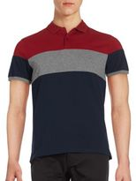Ben Sherman Biking Colorblock Polo