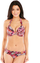 figleaves swimwear Neo Tribe Underwired Halter Bikini Top
