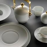 J.L. Coquet Hemisphere White Saucer Bowl