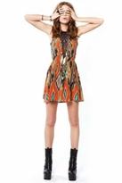 For Love & Lemons Lulu Dress in Spice