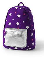 Lands' End Kids Overnight Backpack-Blackberry/Ivory