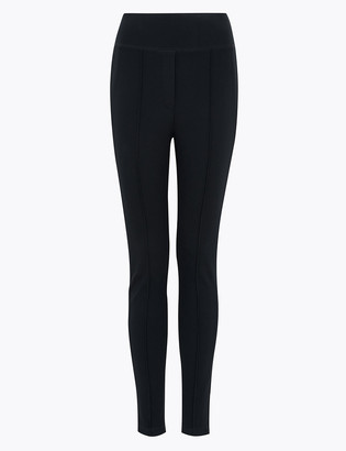 Marks and Spencer Jersey Skinny Ankle Grazer Trousers