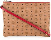 MCM detachable strap clutch