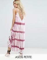 Asos Maxi Beach Dress in Tie Dye Print