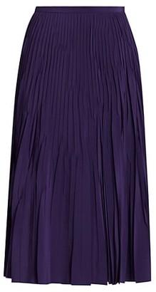 Akris Punto Plisse A-Line Skirt