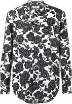 MSGM floral-print shirt - men - Cotton - 39