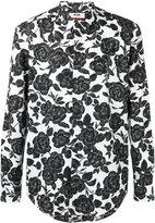 MSGM floral-print shirt