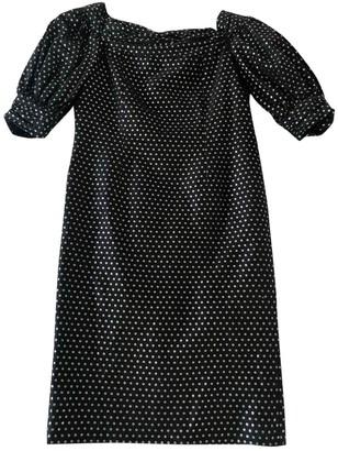 Jean Louis Scherrer Jean-louis Scherrer Navy Cotton Dresses