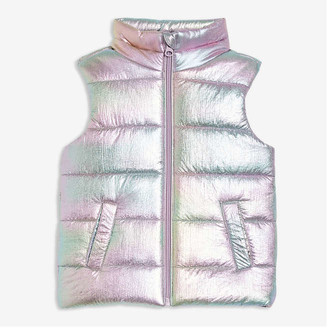Joe Fresh Toddler Girls' Vest with PrimaLoft, White (Size 3)