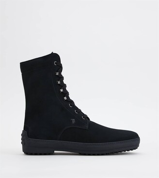 Tod's Winter Gommino Ankle Boots in Suede