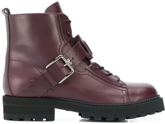 Tod's Double T cargo boots