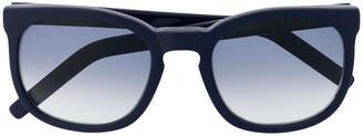 Cutler & Gross Square-Frame Sunglasses