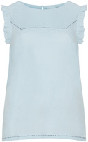 Junarose Plus Size Ruffle cotton top