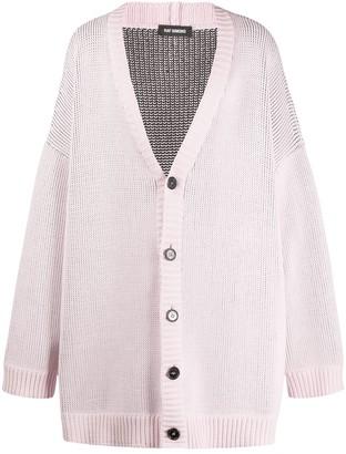 Raf Simons Oversized Buttoned Cardigan