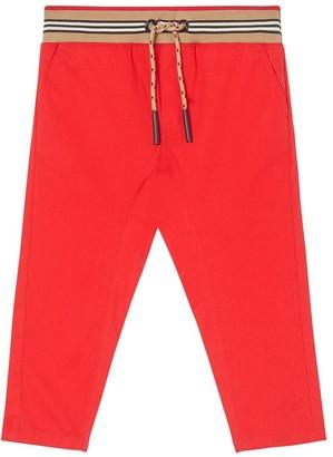 Burberry Cotton Gabardine Pants