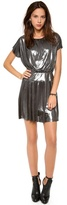 T-Bags Tbags Los Angeles Short Sleeve Mini Dress
