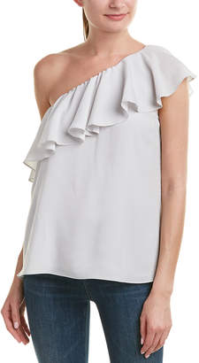 French Connection One-Shoulder Top