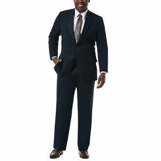 Haggar Men's Big and Tall J.m Premium Stretch Classic Fit 2-Button Coat