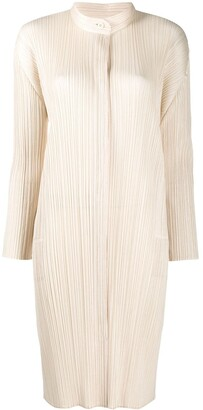 Pleats Please Issey Miyake Micro Pleat Shirt Dress