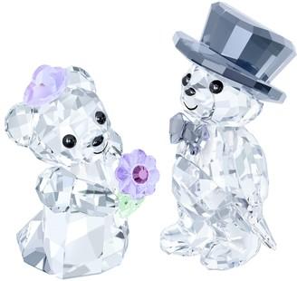 Swarovski Kris Bear You & I Crystal Figurines