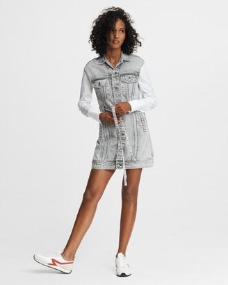 Rag & Bone Trucker mini dress