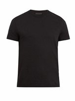 Prada Set of three crew-neck cotton T-shirts