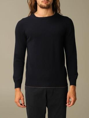 Eleventy Platinum Pullover With Round Neck In Wool