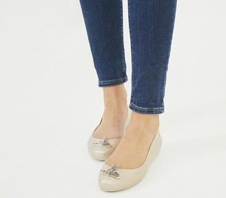 Vivienne Westwood Vw Space Love 23 Flats Moon Shimmer Cut Out Orb