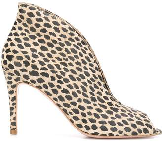 Liu Jo slip-on leopard-print sandals